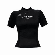 AQUALUNG Dámske neoprénové tričko Superstrat čierna L