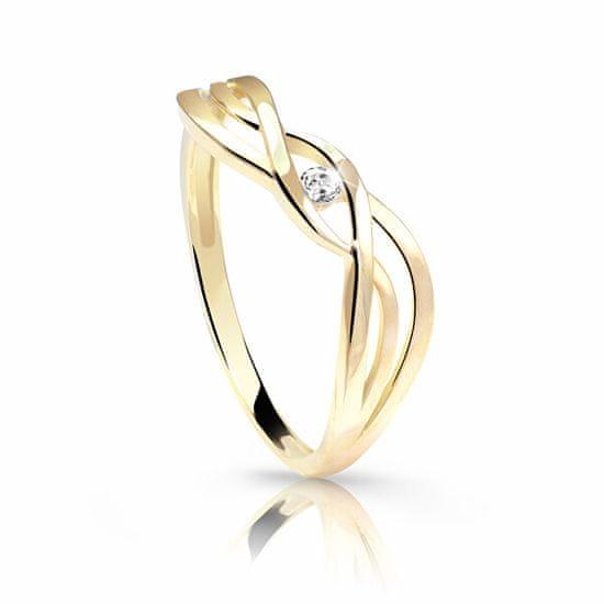 Cutie Jewellery Z6712-1843-10-X-1 Gyengéd sárga arany gyűrű sárga arany 585/1000