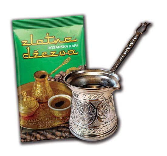 džezva za kavo, indukcija, 200 ml + kava, 100 g