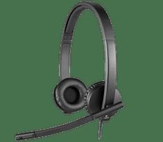 Logitech H570e USB Stereo slušalke z mikrofonom (981-000575)