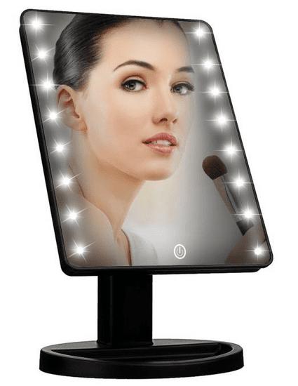 iQ-Tech iMirror kosmetické Make-Up zrcátko LED Dot černé