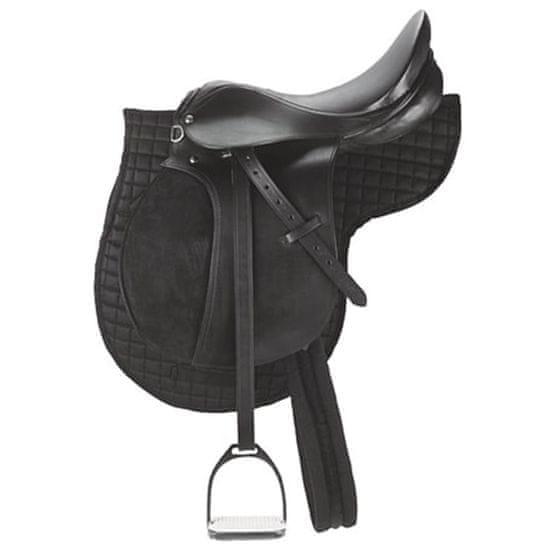 Kerbl Sedlo na poníka kožené černé 32196