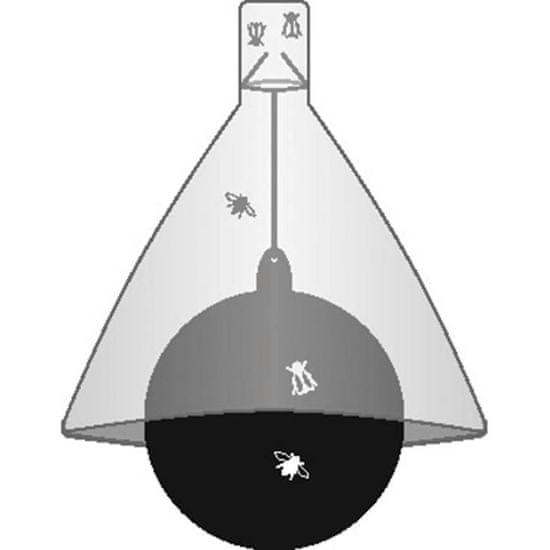 Kerbl Lapač na ovády TaonX pozinkované železo, bílo-černý 323520