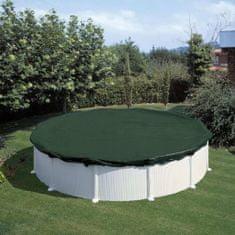 Summer Fun Zimní plachta na bazén kulatá 300 cm PVC zelená