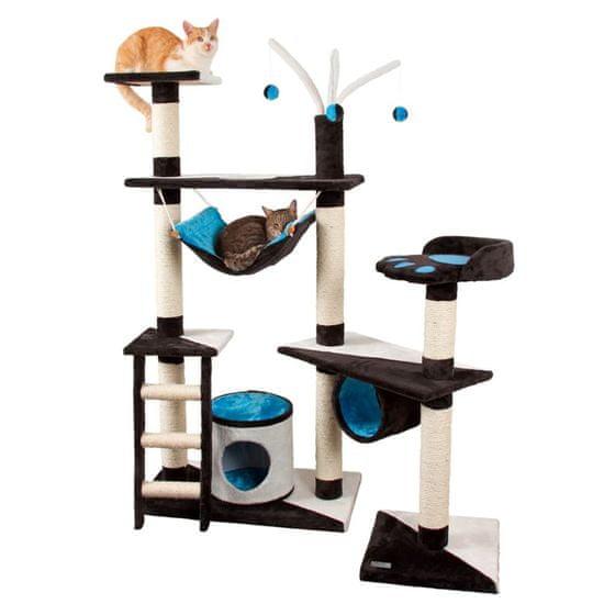 Kerbl Škrabadlo pro kočky Creativ 150 cm modrý 81505
