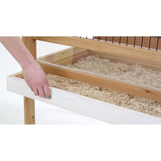 Kerbl Kotec pro malé zvíře Indoor Deluxe 115x60x92,5 cm dřevo 82725
