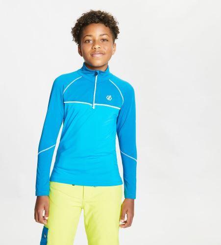 Dare 2b Dětské funkční triko Dare2b FORMATE modrá/oranžová