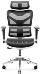 Diablo Chairs V-Commander, fekete/fehér (5902560338140)