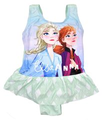 "SETINO Dekliške enodelne kopalke ""Frozen"" - modra - 140 / 9–10 let"