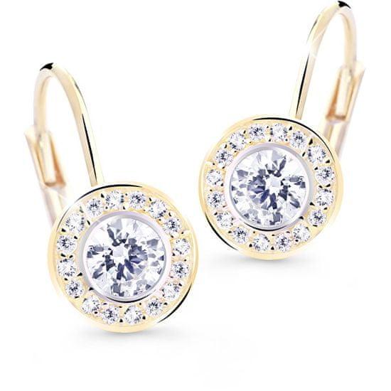 Cutie Jewellery Nežni uhani z bleščečimi cirkoni Z8028-50-10-X-1