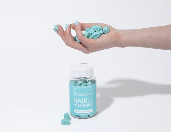 SugarBearHair Hair Vitamins 60 ks