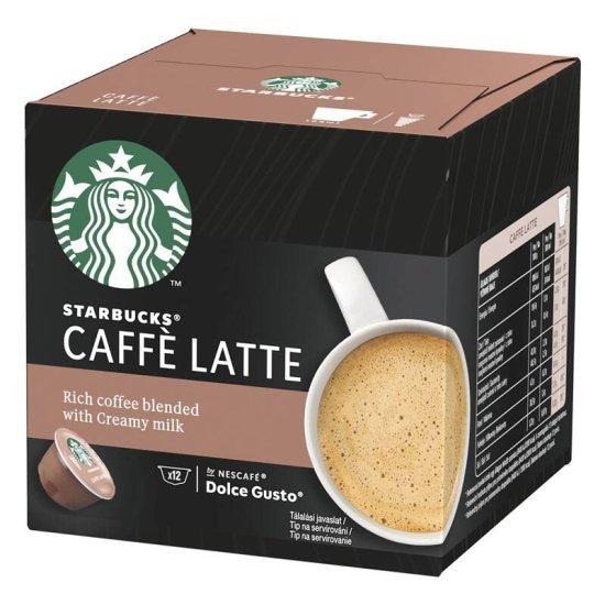 NESCAFÉ Starbucks Caffe Latte kava, 12 kapsula, 121,2 g