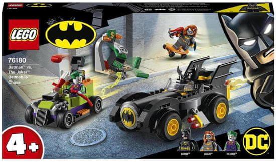 LEGO Super Heroes 76180 Batman™ vs. Joker™: Lov v Batmobilu