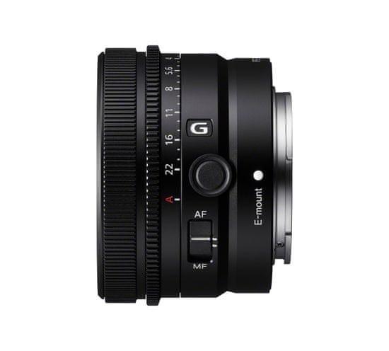 Sony objektiv 50 mm F2,5 G (SEL50F25G.SYX), črn