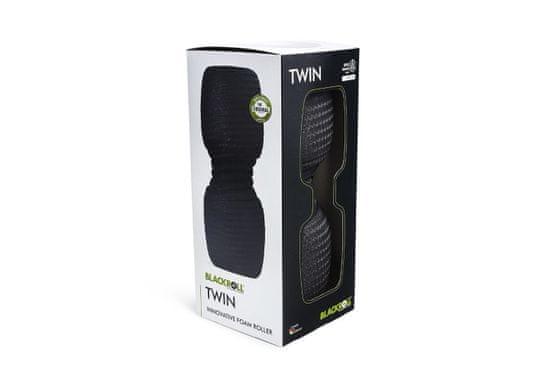 Blackroll TWIN, 30 cm x 13 cm, črna