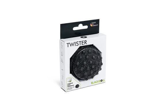 Blackroll TWISTER, 7 cm x 5 cm, črna