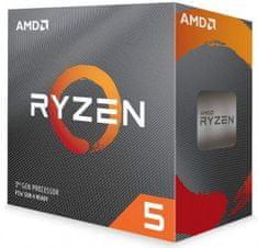AMD Ryzen 5 3600 procesor, Wraith Stealth, 3,6/4,2 GHz, 32 MB, AM4, Multipack