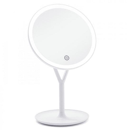 iQ-Tech iMirror Y Charging, kosmetické Make-Up zrcátko nabíjecí LED Line bílá