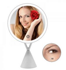 iQ-Tech iMirror X Charging, Kosmetické Make-Up zrcátko nabíjecí LED Line bílá
