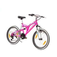 Xplorer Fully Jett 20 otroško kolo, roza