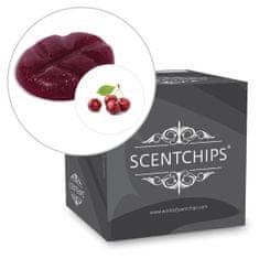 Scentchips Vonný vosk Cherry Scentchips, Balení L - 26 kusů - 182g