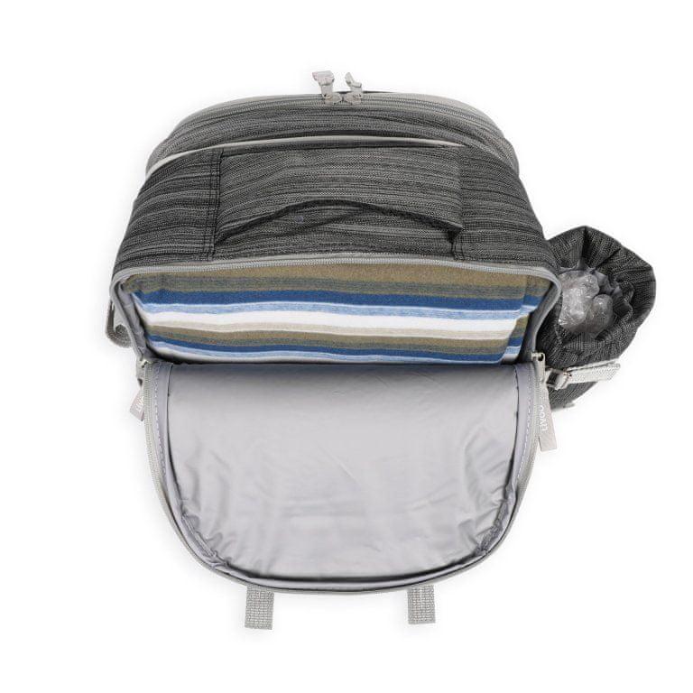 Livoo Piknikový batoh šedý