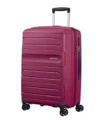 American Tourister Sunside potovalni kovček, 83,5 l, roza