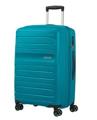 American Tourister Sunside potovalni kovček, 118 l, moder
