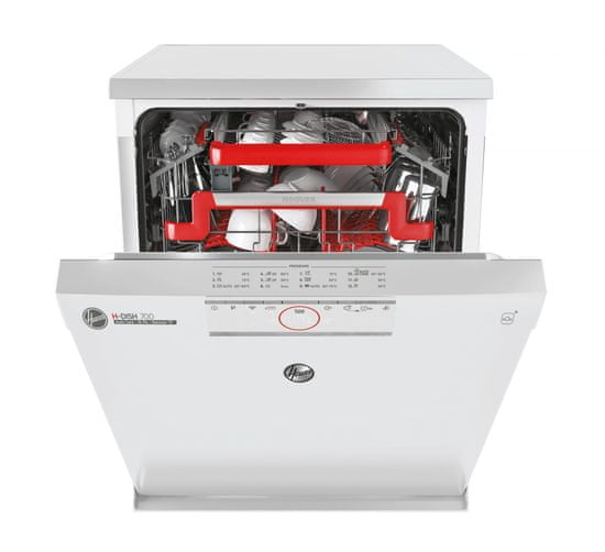 Hoover umývačka riadu HDPN 4S603PW/E + 5 rokov záruka + 11 rokov záruka na motor
