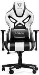 Diablo Chairs X-Fighter, fekete/fehér (5902560333268)