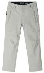 Reima Virrat hlače za dječake s odvojivim hlačama, 116, sive