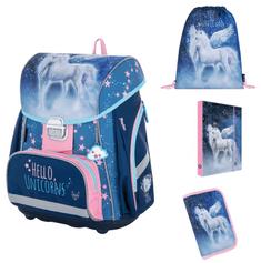 Karton P+P školski set PREMIUM Unicorn 1