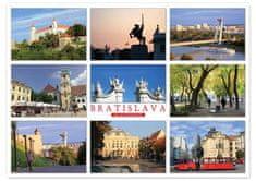 tvorme veľká pohľadnica (A5) - Bratislava b59