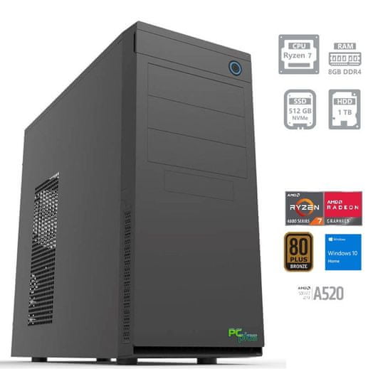 PCplus e-machine namizni računalnik (141754)