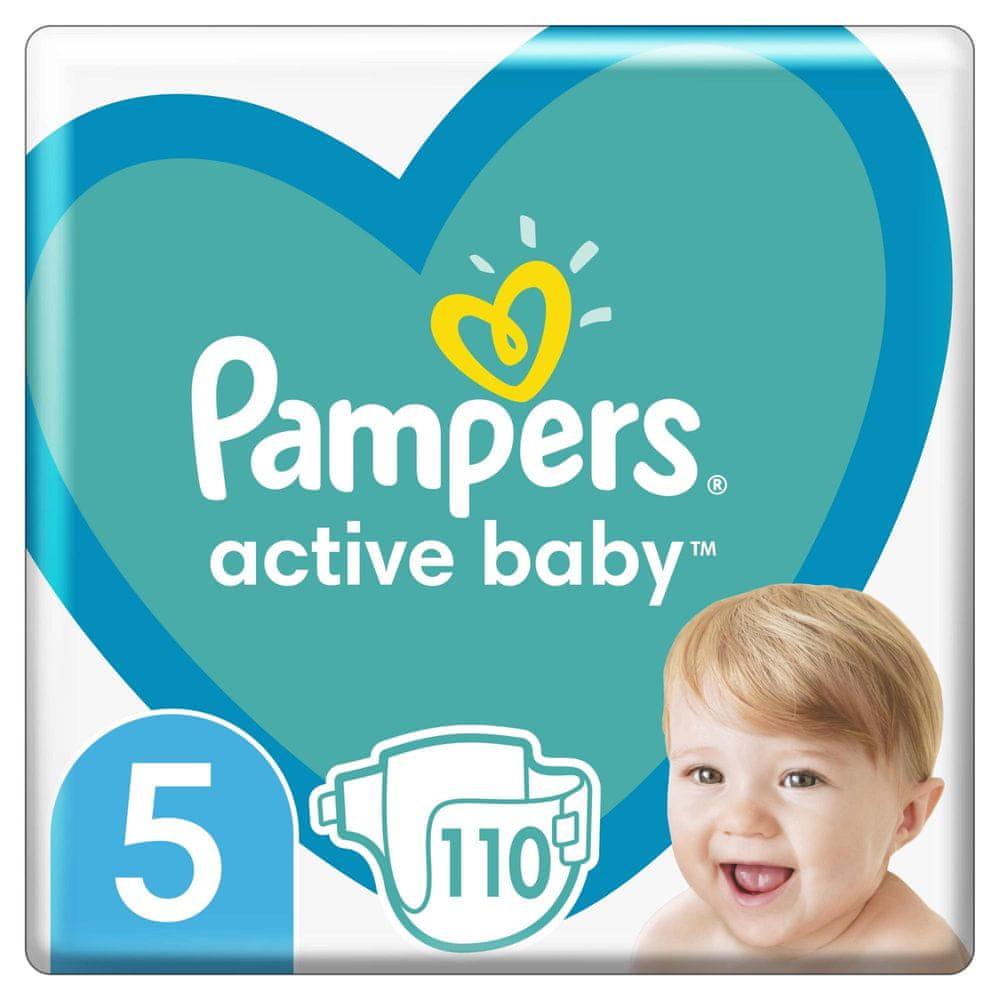 Pampers Active Baby Mega Pack Velikost 5, 110 ks 11-16 kg