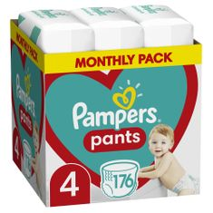Pampers Bugyipelenka Pants 4 (9-15 kg) 176 db.