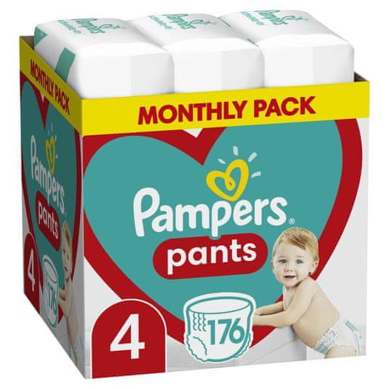 Pampers hlačne plenice Pants 4 (9-15 kg) 176 kosov - Mesečno pakiranje