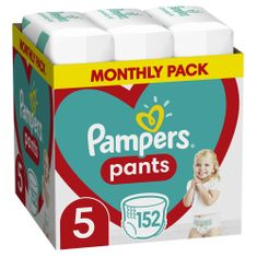 Pampers Bugyipelenka Pants 5 (12-17 kg) 152 db