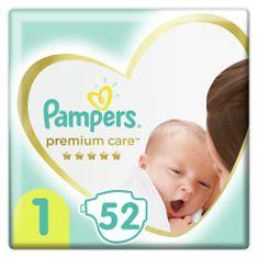 Pampers pieluchy Premium Care, rozmiar 1, 52 szt., 2kg-5kg