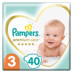 Pampers Premium Care pelenka, Méret 3, 40 db, 6kg-10kg