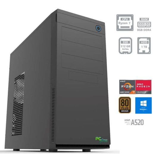 PCplus e-machine namizni računalnik (141755)