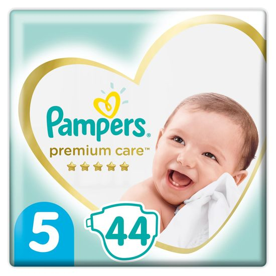 Pampers pleničke Premium Care 5 Junior (11-16 kg) 44 kosov