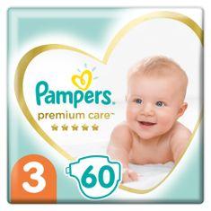 Pampers Plenky Premium Care 3 Midi (6-10 kg) 60 ks