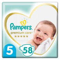 Pampers plenice Premium Care 5 Junior (11-16 kg) 58 kosov