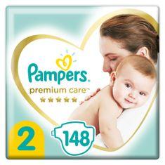 pieluchy Premium Care, rozmiar 2, 148szt., 4kg-8kg