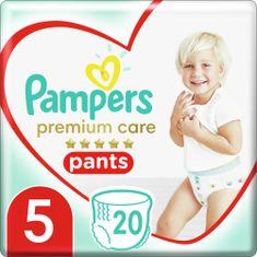 Pampers Premium Care Pants 5 (12-17 kg) Pieluchomajtki 20 szt.