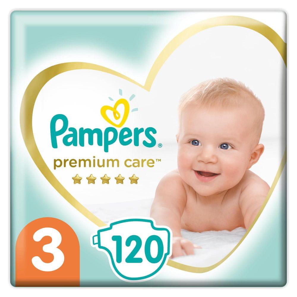 Pampers Premium Care, Velikost 3 120ks, 6kg-10kg