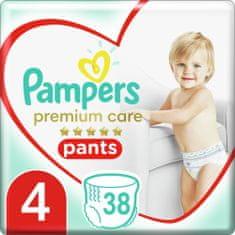Pampers hlačne plenice Premium Care Pants 4 (9-15 kg) Maxi 38 kos