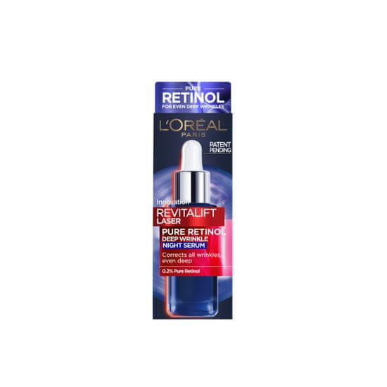 Loreal Paris Revitalift Laser Retinol serum za obraz, 30 ml