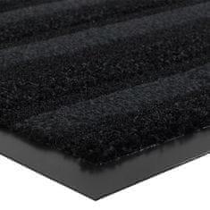 FLOMA Grafitová vnitřní čistící vstupní rohož Passage (Cfl-S1) - délka 68 cm, šířka 90 cm a výška 0,9 cm